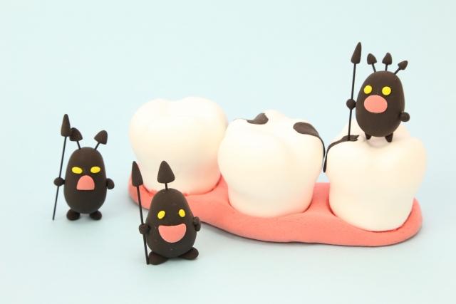 虫歯菌のイメージ