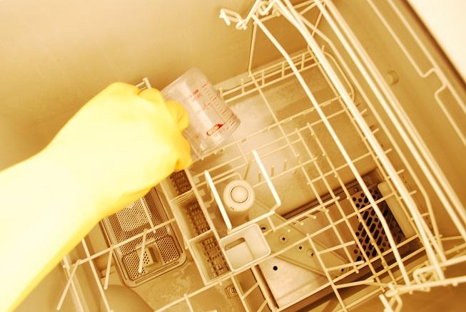 クエン酸を食洗機に投入